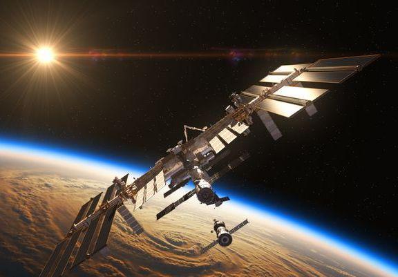 ISS sous ciel
